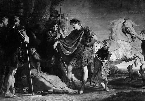 The Meeting of Alexander the Great and DiogenesGaspardeCrayer