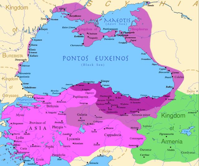Imperium Mitrydatesa VI