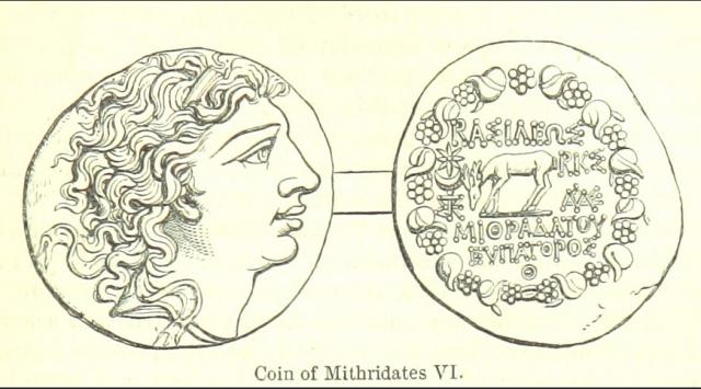 Moneta Mitrydatesa VI