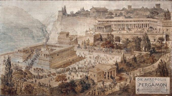 1280px-Acropolis_of_Pergamon_-_Friedrich_Thierch_-_1882